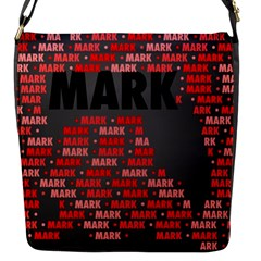 Mark Flap Messenger Bag (s) by MoreColorsinLife