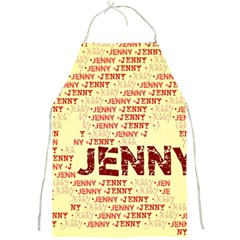 Jenny Full Print Aprons by MoreColorsinLife