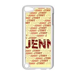 Jenny Apple Ipod Touch 5 Case (white) by MoreColorsinLife