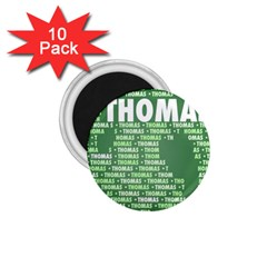 Thomas 1 75  Magnets (10 Pack)  by MoreColorsinLife