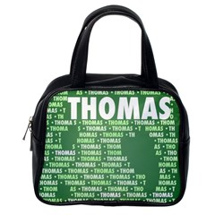 Thomas Classic Handbags (one Side) by MoreColorsinLife