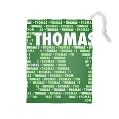 Thomas Drawstring Pouches (large)  by MoreColorsinLife