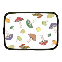 Mushrooms Pattern 02 Netbook Case (medium)  by Famous