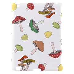 Mushrooms Pattern 02 Apple Ipad 3/4 Hardshell Case (compatible With Smart Cover) by Famous