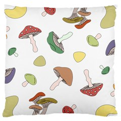 Mushrooms Pattern 02 Large Cushion Cases (two Sides)