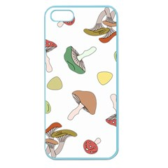 Mushrooms Pattern 02 Apple Seamless Iphone 5 Case (color) by Famous