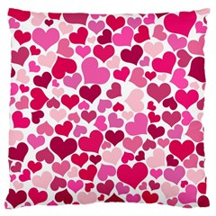 Heart 2014 0933 Large Cushion Cases (one Side)