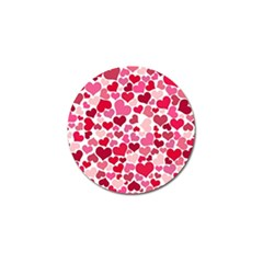 Heart 2014 0934 Golf Ball Marker (4 Pack)