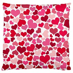 Heart 2014 0934 Large Cushion Cases (two Sides)
