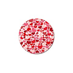 Heart 2014 0935 Golf Ball Marker (4 Pack) by JAMFoto