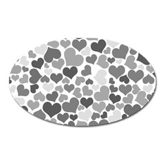 Heart 2014 0936 Oval Magnet