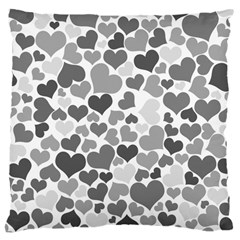 Heart 2014 0936 Large Cushion Cases (one Side)  by JAMFoto