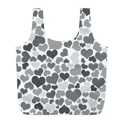 Heart 2014 0936 Full Print Recycle Bags (l)  by JAMFoto