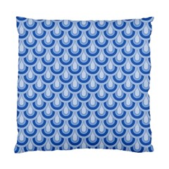 Awesome Retro Pattern Blue Standard Cushion Cases (two Sides)  by ImpressiveMoments