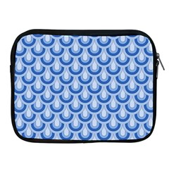 Awesome Retro Pattern Blue Apple Ipad 2/3/4 Zipper Cases by ImpressiveMoments