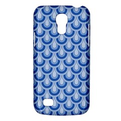 Awesome Retro Pattern Blue Galaxy S4 Mini by ImpressiveMoments