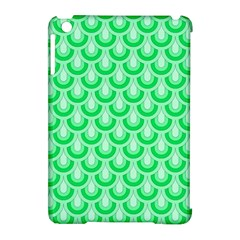 Awesome Retro Pattern Green Apple Ipad Mini Hardshell Case (compatible With Smart Cover) by ImpressiveMoments