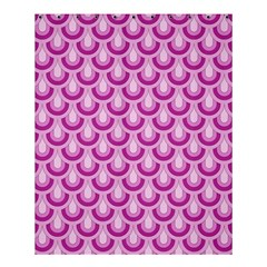Awesome Retro Pattern Lilac Shower Curtain 60  X 72  (medium)