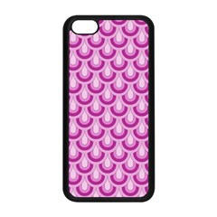 Awesome Retro Pattern Lilac Apple Iphone 5c Seamless Case (black) by ImpressiveMoments