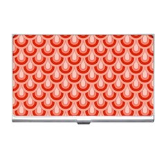 Awesome Retro Pattern Red Business Card Holders