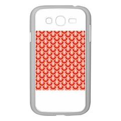 Awesome Retro Pattern Red Samsung Galaxy Grand Duos I9082 Case (white) by ImpressiveMoments