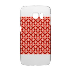 Awesome Retro Pattern Red Galaxy S6 Edge by ImpressiveMoments