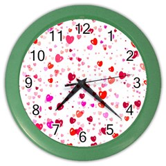 Heart 2014 0601 Color Wall Clocks