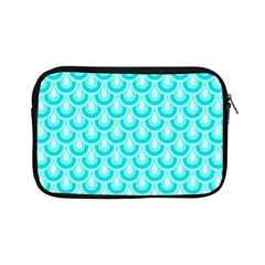 Awesome Retro Pattern Turquoise Apple Ipad Mini Zipper Cases by ImpressiveMoments