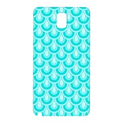Awesome Retro Pattern Turquoise Samsung Galaxy Note 3 N9005 Hardshell Back Case by ImpressiveMoments