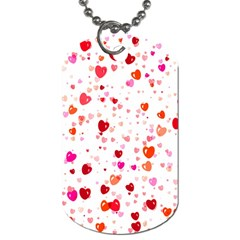 Heart 2014 0602 Dog Tag (one Side)