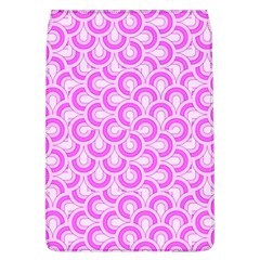 Retro Mirror Pattern Pink Flap Covers (l)  by ImpressiveMoments