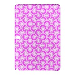 Retro Mirror Pattern Pink Samsung Galaxy Tab Pro 10 1 Hardshell Case by ImpressiveMoments