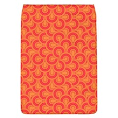 Retro Mirror Pattern Red Flap Covers (l)  by ImpressiveMoments