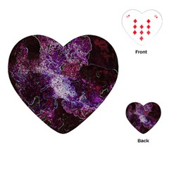 Space Like No 1 Playing Cards (heart)