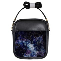 Space Like No 3 Girls Sling Bags by timelessartoncanvas