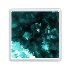 Space Like No 5 Memory Card Reader (square)  by timelessartoncanvas