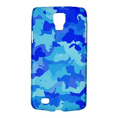 Camouflage Blue Galaxy S4 Active by MoreColorsinLife