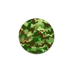 Camouflage Green Golf Ball Marker (4 Pack) by MoreColorsinLife