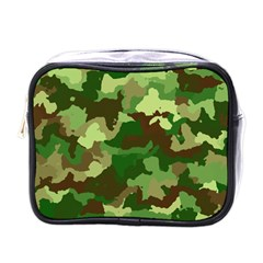 Camouflage Green Mini Toiletries Bags by MoreColorsinLife