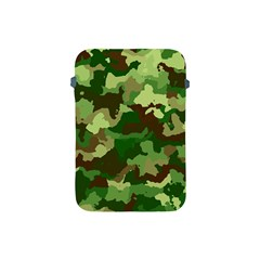 Camouflage Green Apple Ipad Mini Protective Soft Cases
