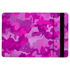 Camouflage Hot Pink Ipad Air 2 Flip by MoreColorsinLife