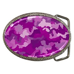 Camouflage Purple Belt Buckles