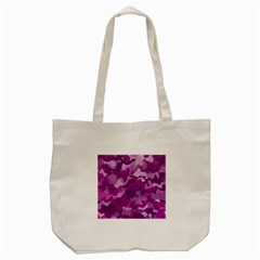 Camouflage Purple Tote Bag (cream)  by MoreColorsinLife