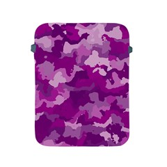 Camouflage Purple Apple Ipad 2/3/4 Protective Soft Cases by MoreColorsinLife
