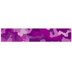 Camouflage Purple Flano Scarf (large)  by MoreColorsinLife