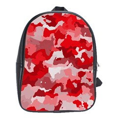 Camouflage Red School Bags (xl)  by MoreColorsinLife