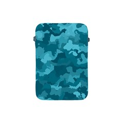 Camouflage Teal Apple Ipad Mini Protective Soft Cases by MoreColorsinLife