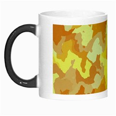 Camouflage Yellow Morph Mugs by MoreColorsinLife