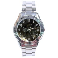 Space Like No 8 Stainless Steel Men s Watch by timelessartoncanvas