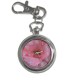 Pink Rose Key Chain Watches